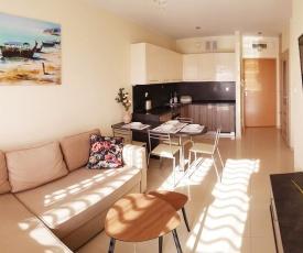 Słoneczny apartament w Jantarze