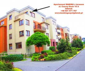 Apartament MARINA+taras+garaż+wifi