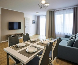 Apartament Baltic Port 55qm, 3 pokoje Zimmer, Parking