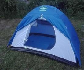 Pole namiotowe w Sudetach